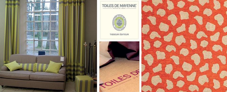 Accueil mercadier rouen b ton cir peintures d coration - Canape toile de mayenne ...