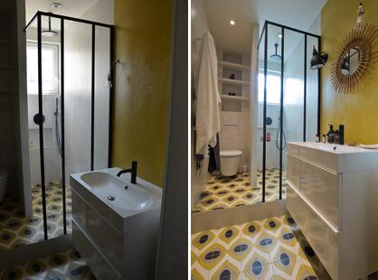 Best Beton Cire Salle De Bain Mercadier Pictures - House Design ...